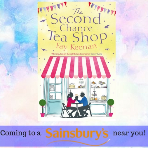 Second chance tea shop sainsbury's cover (1)