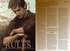 cider house rules double page